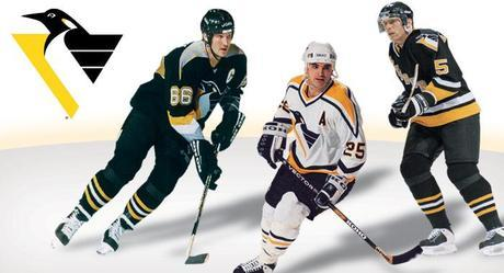 Pittsburgh Penguins Logo And Jersey Redesign From 20 Years Ago (and Concepts)