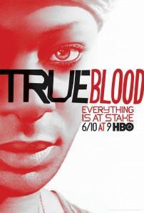 HBO True Blood Promo poster with Lafayette (played by Nelsan Ellis)