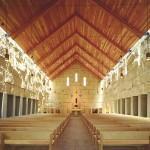 Cistercian Abbey Church by Cunningham Architects