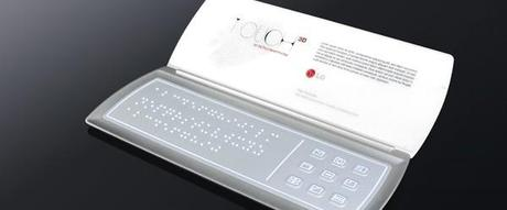 LG Touch concept mobile phone