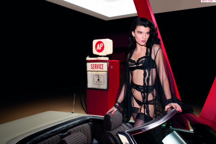 Crystal Renn for Agent Provocateur S:S 2013 Campaign by Olivier Zahm 5