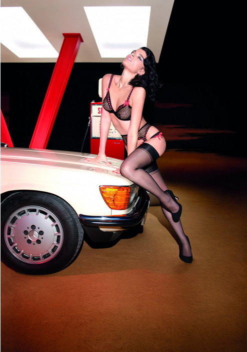 Crystal Renn for Agent Provocateur S:S 2013 Campaign by Olivier Zahm 4