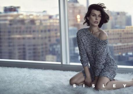 Milla Jovovich by Sean & Seng for Sisley's Spring 2013 Campaign 2