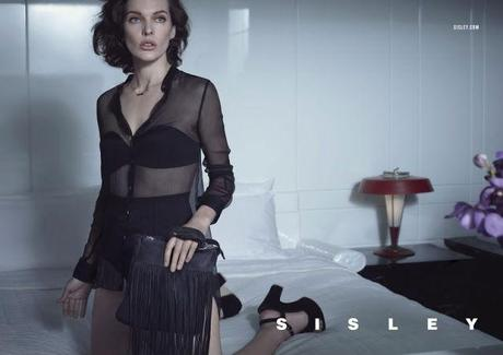 Milla Jovovich by Sean & Seng for Sisley's Spring 2013 Campaign  3