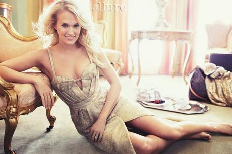 Carrie Underwood by Alexi Lubomirski for Allure Magazine February 2013