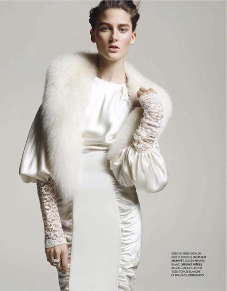 Nora Lony by Wendelin Spiess for Elle France January 2013