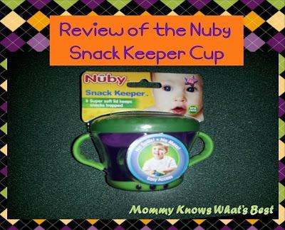 Review of the Nuby Snack Keeper Cup: Great for Messy Toddlers!