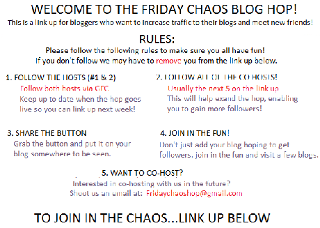 Friday Chaos Blog Hop