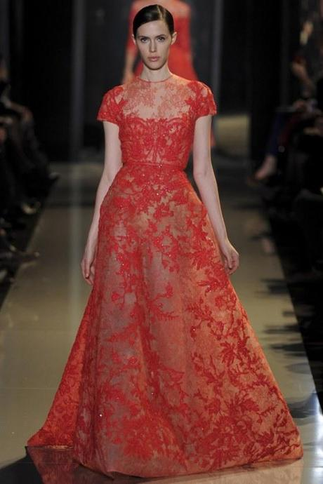 Elie-Saab-Red-Lace-Dress
