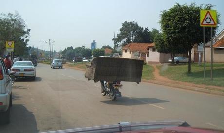 Moving house Ugandan style