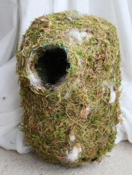 homemade nesting pocket