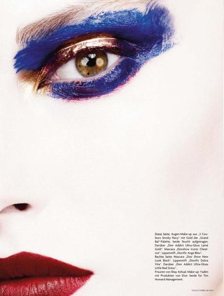 Catherine McNeil by Ben Hassett for Vogue Germany February 2013 3