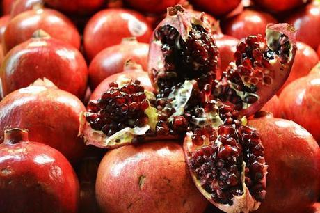 Fleur d'Elise, Seattle, Pike Place Market, pomegranate, food photography