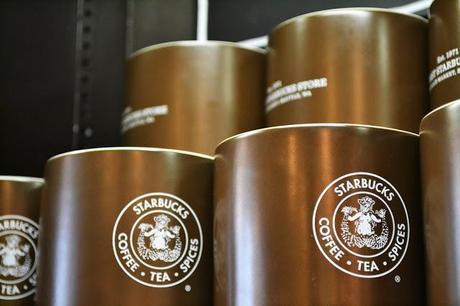 starbucks coffee, seattle, pike place market, fleur d'elise