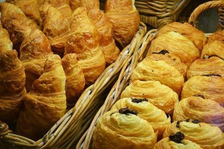 pain au chocolat, seattle, la panier, pike place market, bakery, croissant, pastries, french