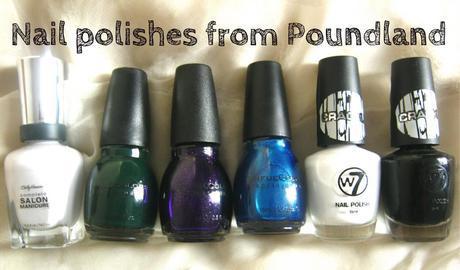 Nail Polishes From Poundland