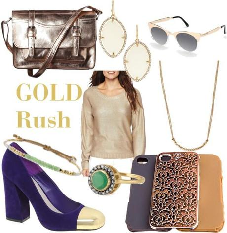 Frugal Fashion Friday - Gold Rush under $50