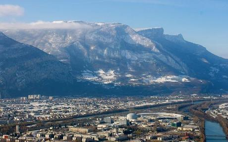 Views from La Bastille, the #1 attraction in Grenoble, France.
