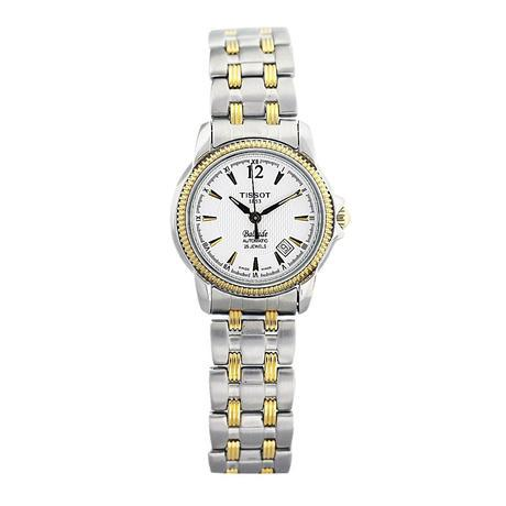 Tissot Ladies Two Tone Automatic Wrist Watch, tissot, 6 nations, rugby