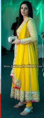 Mehndi Outfits Collection - 2013