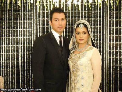 Pakistani TV Host Nazia Malik Wedding Pictures