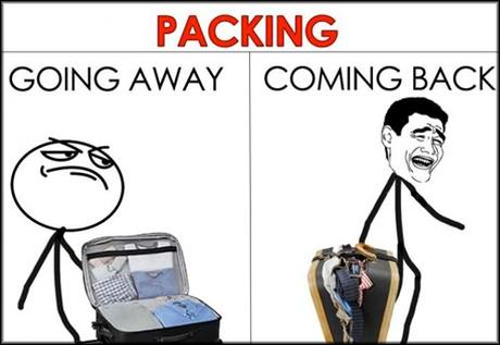 vacation humor packing for your trip