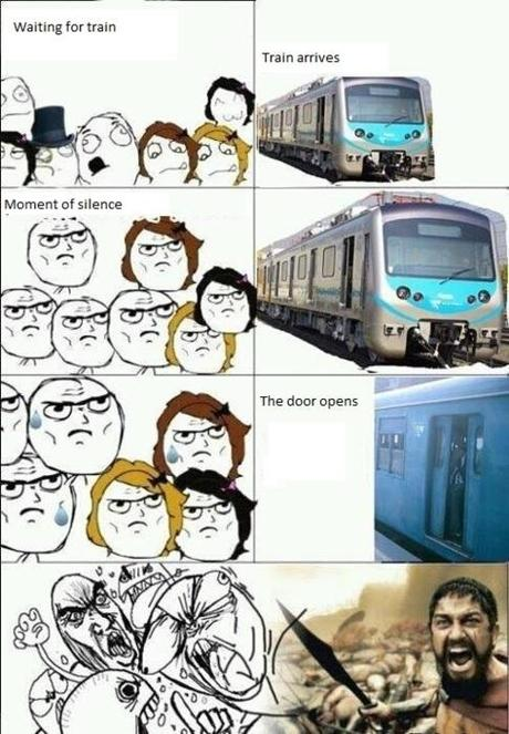 travel humor travel by train