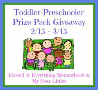 Toddler Preschooler Giveaway- Free Blogger Opp