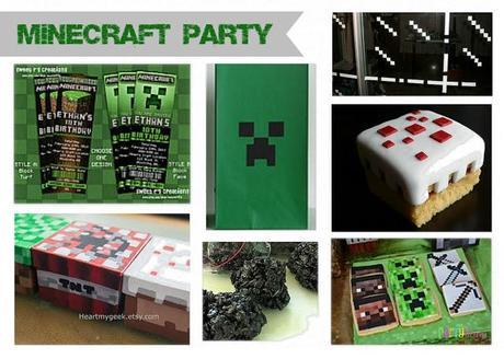Minecraft Party Design Board!