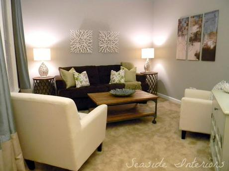 Contemporary Living Room Reveal Start to Finish!!