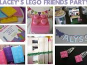 Lego Friends Party Mood Board