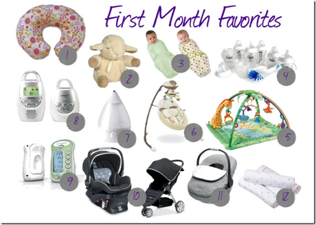 Baby Gear: First Month Favorites - Paperblog