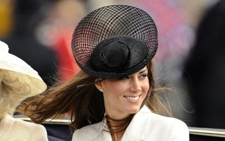 Kate Middleton Black Hat