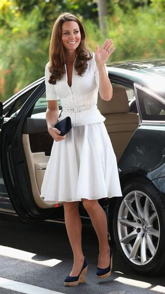 Kate+Middleton+White+Dress