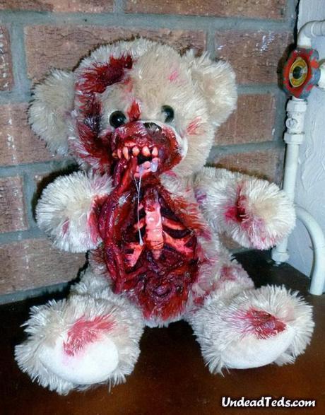 Valentines Day Gift Idea – Zombie Teddy
