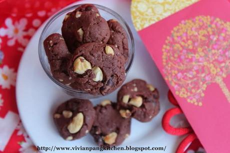 Brown Butter Chocolate Cookies-CNY Cookies#3