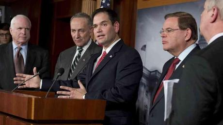 Eight senators present bipartisan immigration proposal.  Is this good news?