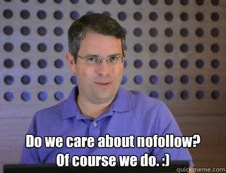 Matt Cutts about Nofollow Links