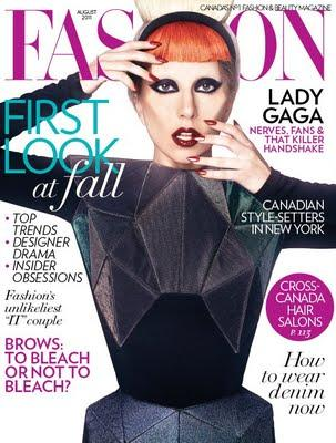 Lady Gaga for FASHION MAG!