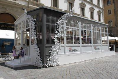 REDValentino's Pop up Greenhouse!