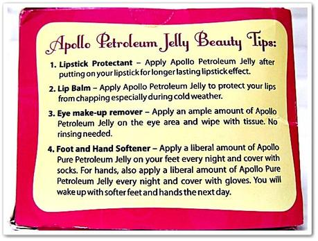 The Multi-purpose of Apollo Petroleum Jelly