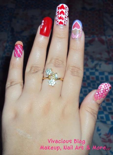5 Nail Art Ideas For Valentine's Day
