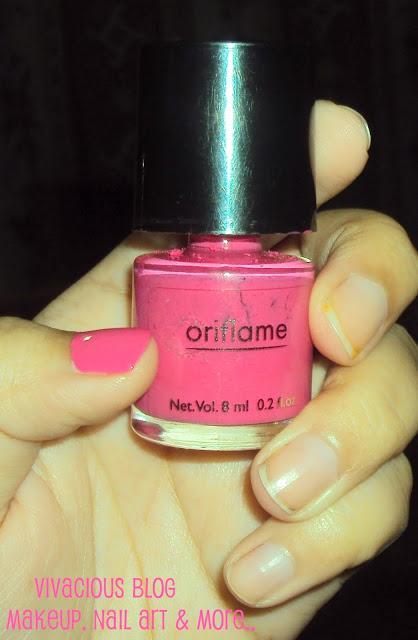 Oriflame Pure Color Nail Polish Intense Pink Paperblog