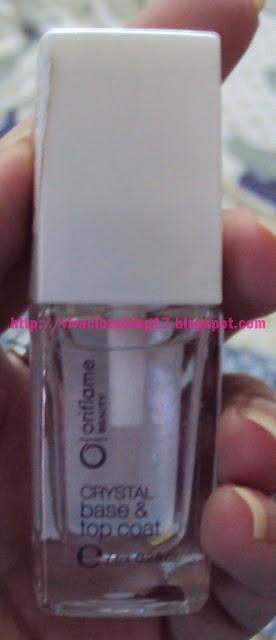 Oriflame Beauty Crystal Base & Top Coat Review