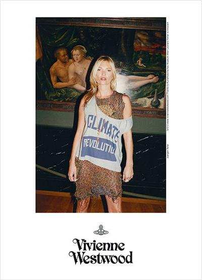 Kate Moss for Vivienne Westwood Gold Label Spring Summer 2013 Ad...