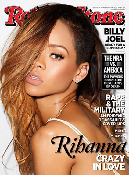 Rihanna for Rolling Stone Magazine, March 2013 shot by Terry...