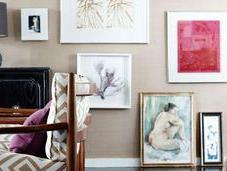 Make Your Walls Beautiful! Inspiring Ways Hang Art.