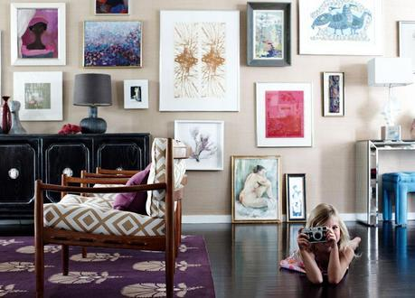 Make your walls beautiful! Inspiring ways to hang art.