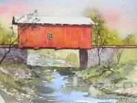 The old covered bridge