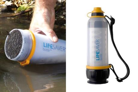 Lifesaver Water Bottle